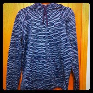 Nike Hooded Sweatshirt - Blue